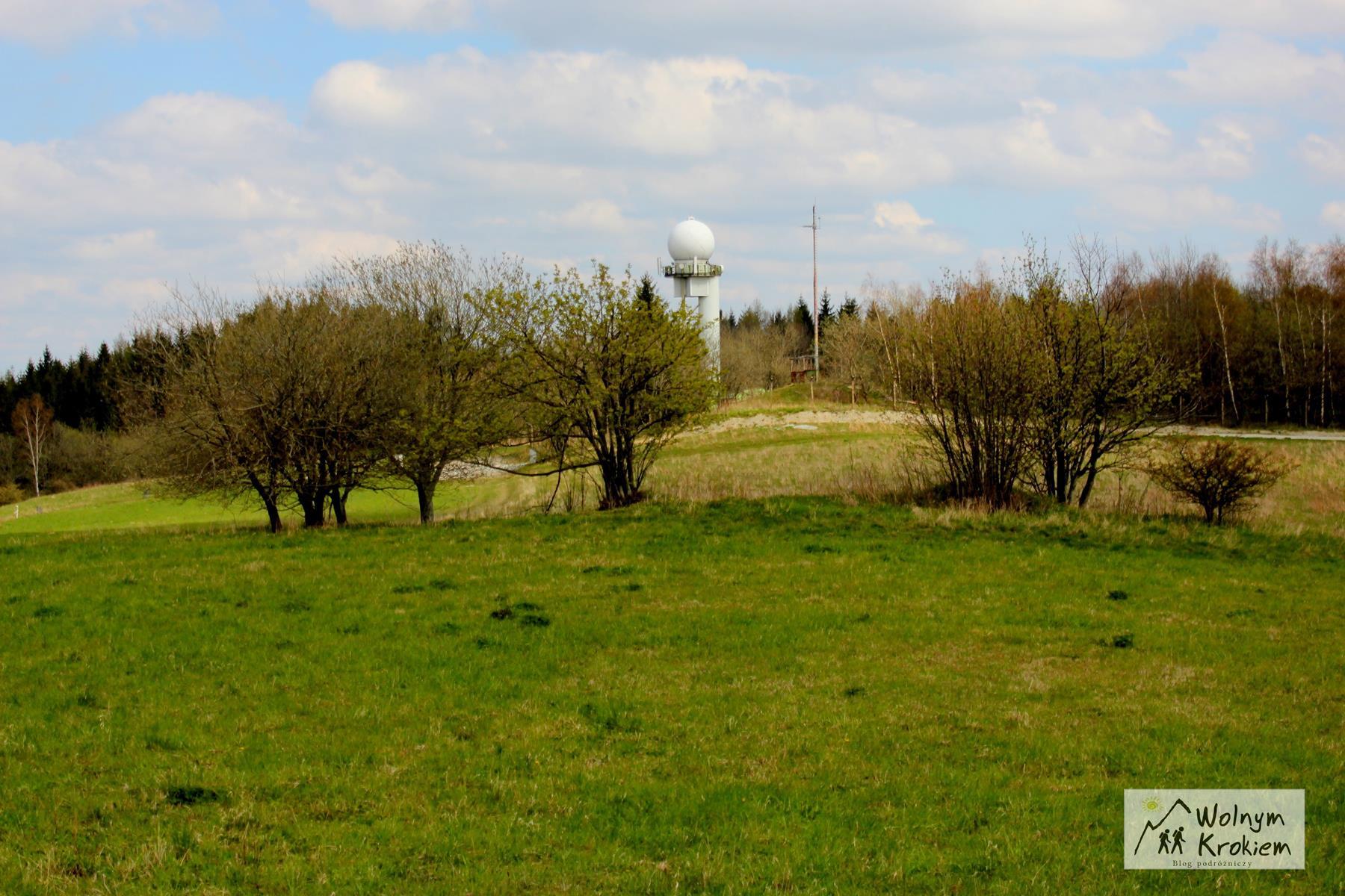 radar meteorologiczny Instytutu Meteorologii i Gospodarki Wodnej Poręba IMGW