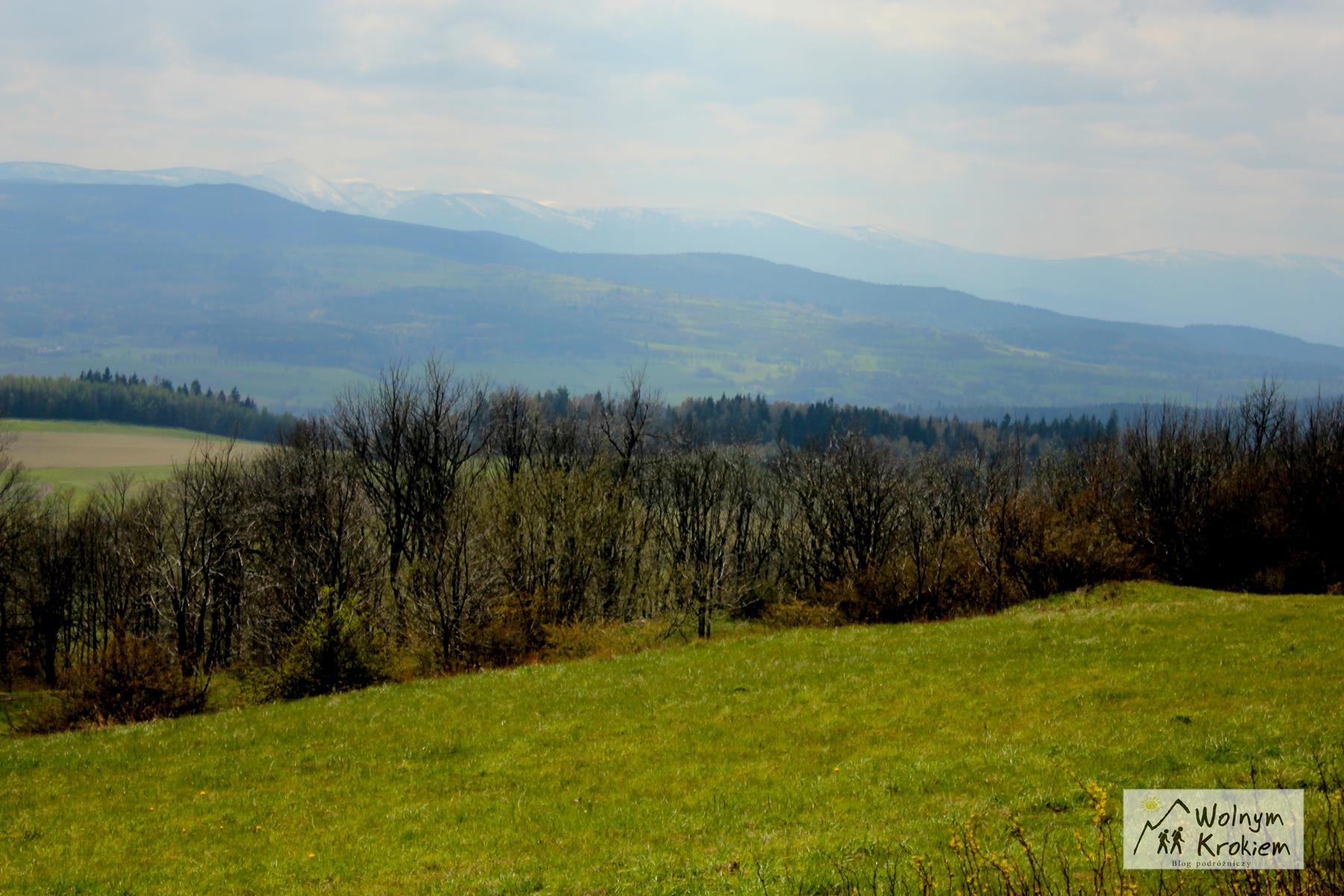 Szlak na Porębę Góry Kaczawskie Sudecki Włóczykij