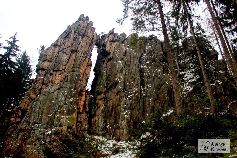 Kamienny Most rudawy Janowickie