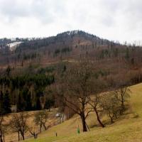 Szlak na górę Wielki Stożek - Beskid Śląski