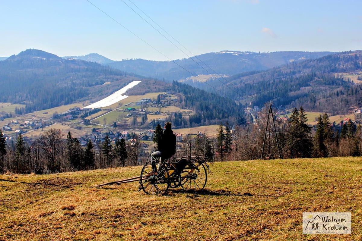 Szlak na Trzy Kopce Wiślańskie - szczyt (Beskid Śląski)