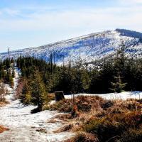 Barania Góra 1 220 m n.p.m. | Szlak z Wisły Czarne