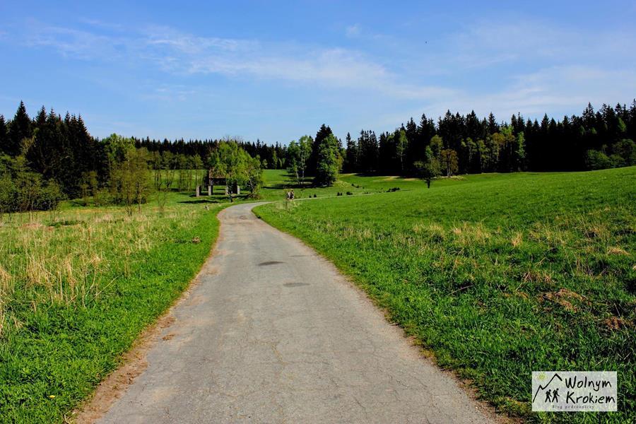 Broumovske Steny - szlak na Korunę z Pasterki