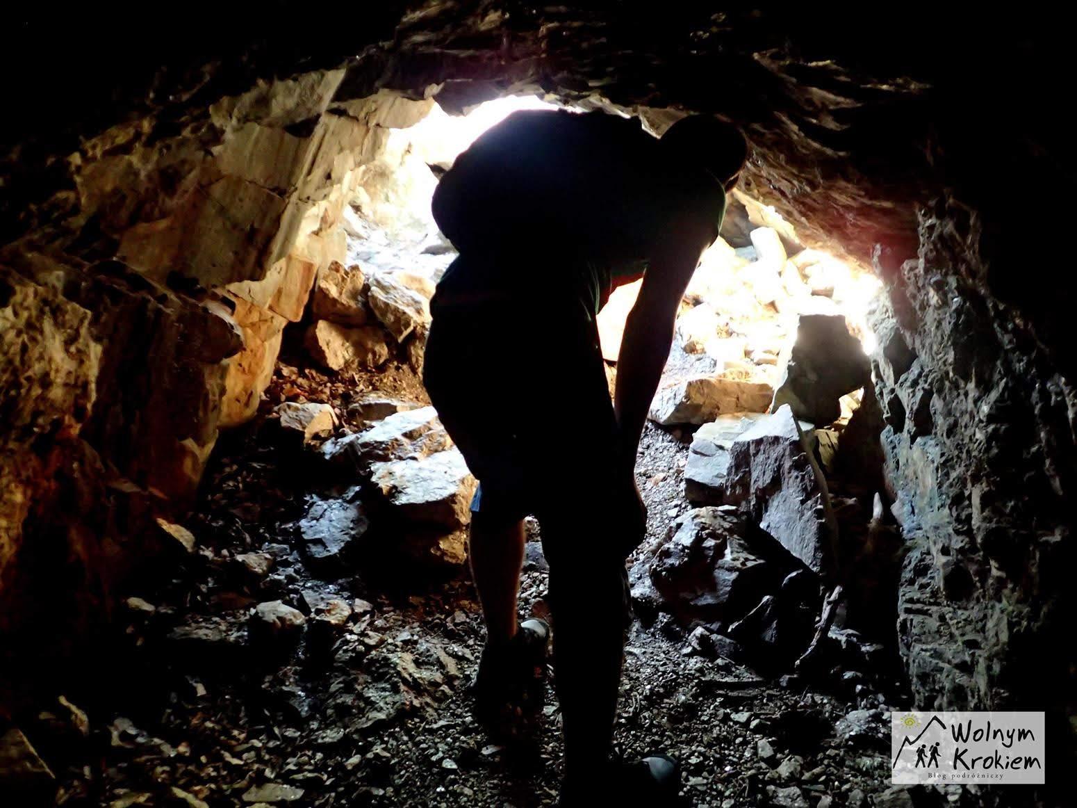 opuszczona kopalnia Nessoden