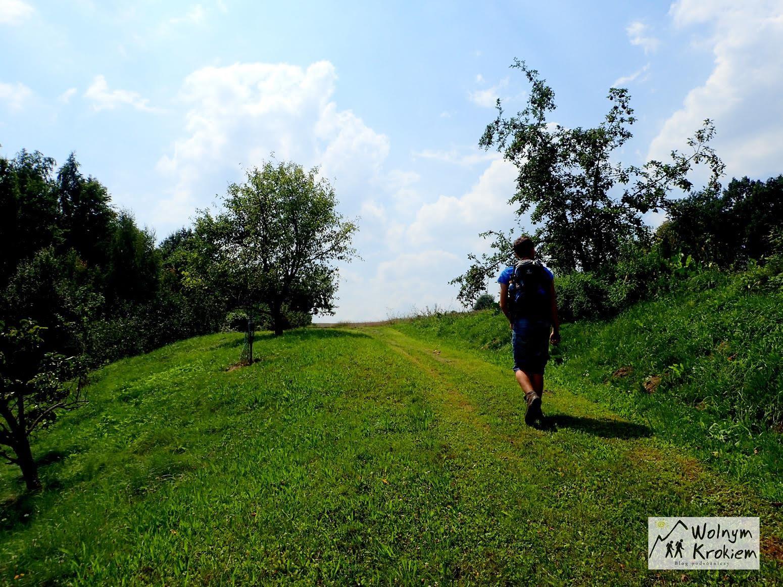 Szlak na ścieżkę prowadzącą do Kalwiarii