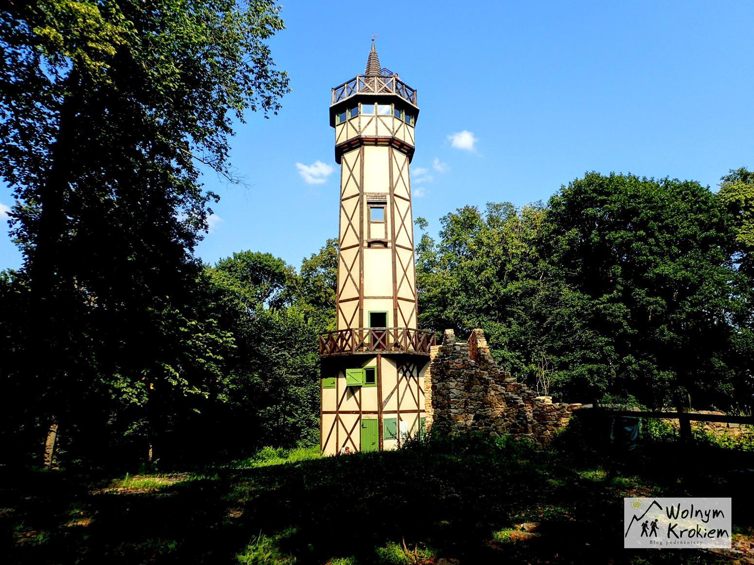 Gromnik wieża widokowa Dolny Śląsk