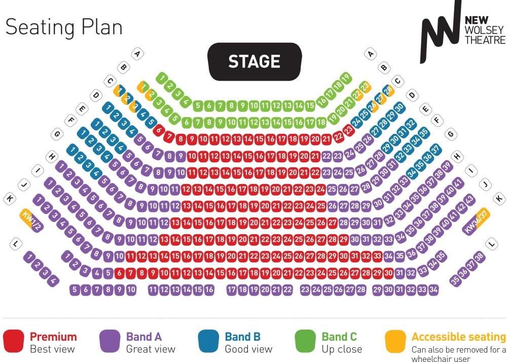 Seating Plan from Spring 15