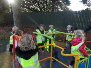 Nursery - Christmas Lights Visit