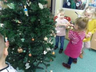 Nursery - Tree decorating