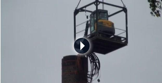 21.09.2011 | Maroder Rolinck-Kamin wird abgerissen
