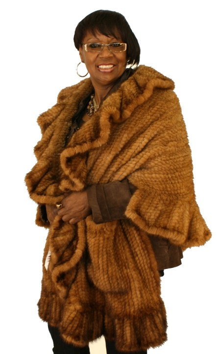 Janet Jackson Knitted Mink 016265