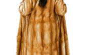 Honey Glow Mink Coat 017549