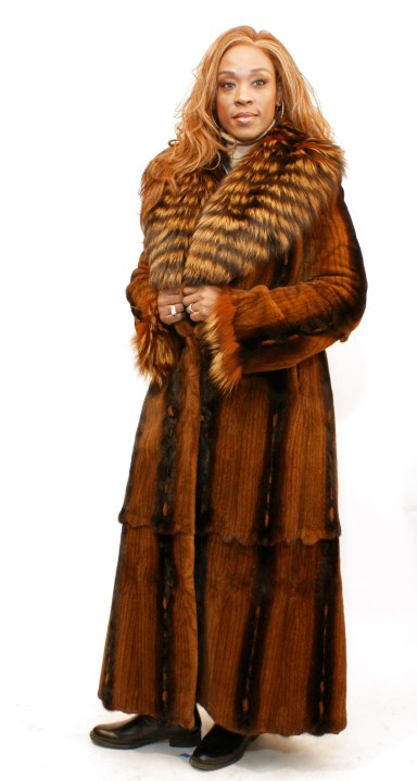 Reversible Sheared Mink Coat