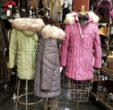 poly filled jackets fake fur tirm