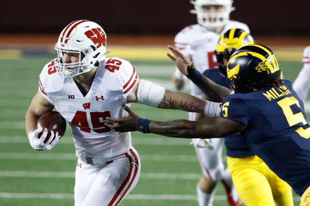 Michigan Football Halftime Analysis against No. 13 Wisconsin