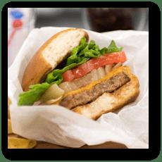 食品サンプル: ハンバーガー