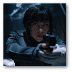 Ghost in the Shell - Scarlett Johansson as Major