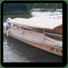堀川めぐりの船