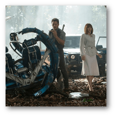 Jurassic World - Owen and Claire