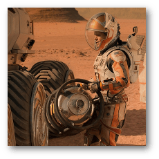 The Martian - Matt Damon as Mark Watney