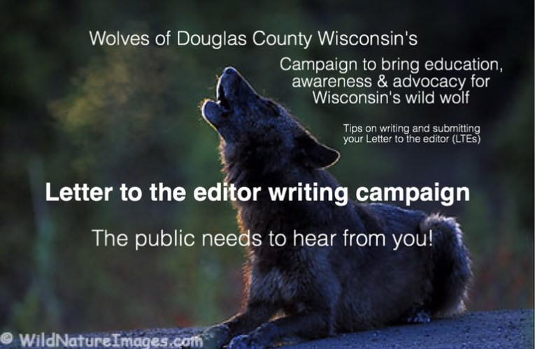 Letter to the editor (LTE) writing campaign: the public needs to hear from you!