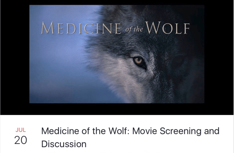 """Medicine of the Wolf"" will be screened this Thursday, July 20th, at the Black Earth Public Library"