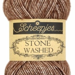 wolzolder Scheepjes Stone Washed - 822 - Brown Agate-2