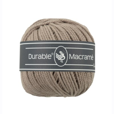 Durable Macrame Wolzolder Taupe 340