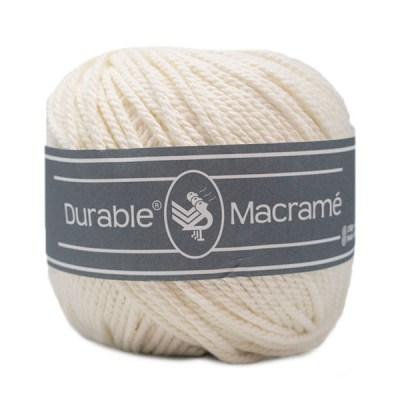 Durable Macrame Wolzolder Ivory 326