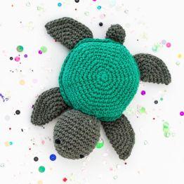Haakpakket Turtle Jake schildpad hoooked