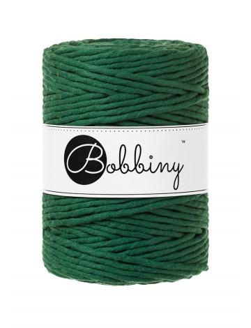 Bobbiny macrame 5mm pine green