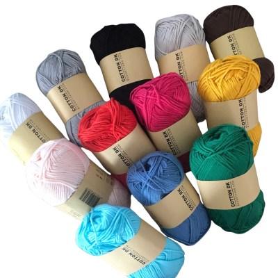 amigurumipakket 12 kleuren budgetyarn