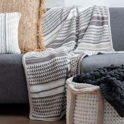 Stocksund deken haakpakket Hoooked