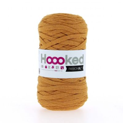 ribbonxl hoooked Harvest Ocre