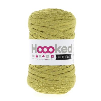 ribbonxl hoooked Spicy Ocre