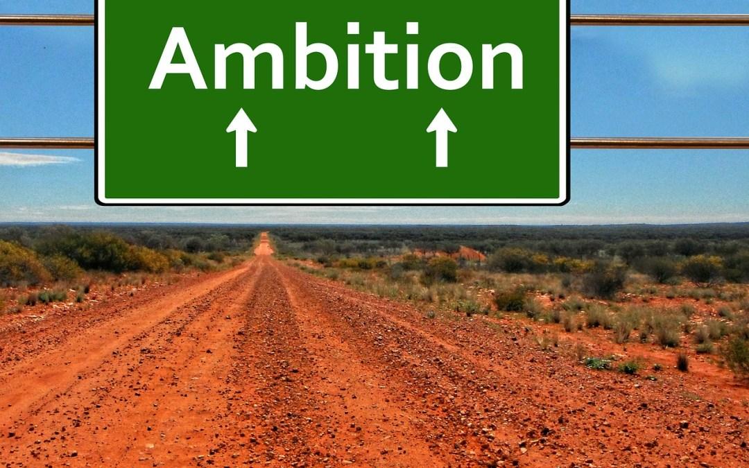 Avoir de l'ambition   Le goût de la réussite