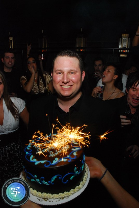 Jordan Miner's Birthday at LAVO Nightclub