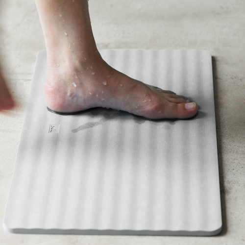 soil BATH MAT wave
