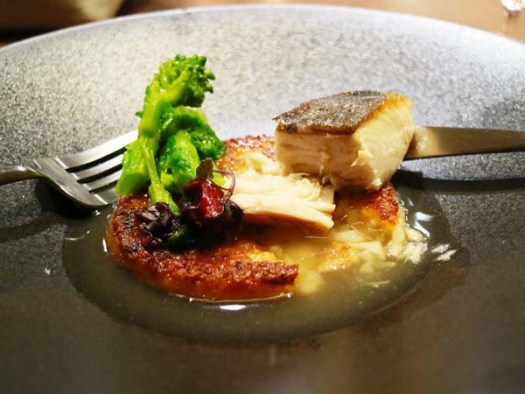 NOHGA HOTEL UENO内「Bistro NOHGA」の2019年2月の魚料理