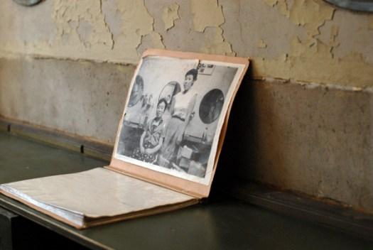「銀座奥野ビル306号室」に飾られていた元オーナーの写真