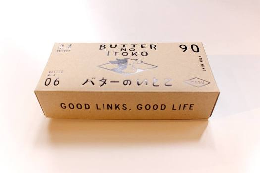 「バターのいとこ」のパッケージ