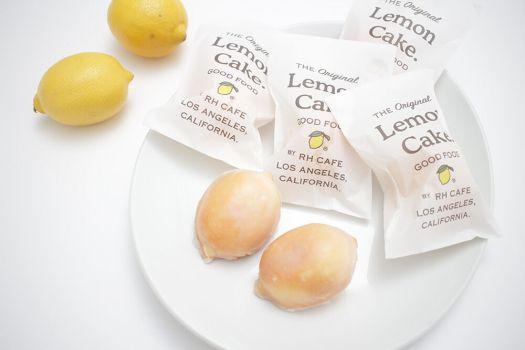 「RHC CAFE」のレモンケーキ