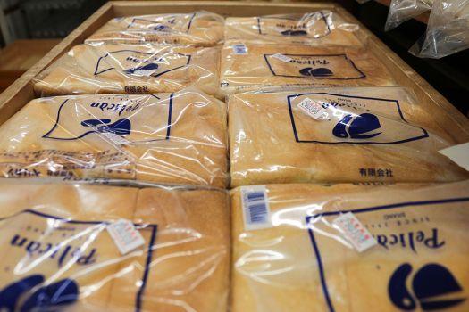 「パンのペリカン」のばんじゅうに入った食パン