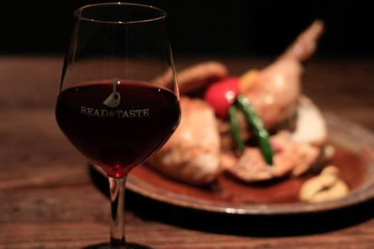 「Brooklyn Parlor SHINJUKU」の赤ワイングラス