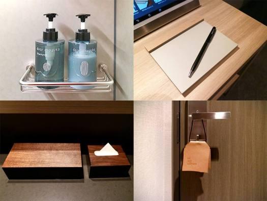 NOHGA HOTEL UENOのオリジナルのアメニティ・備品