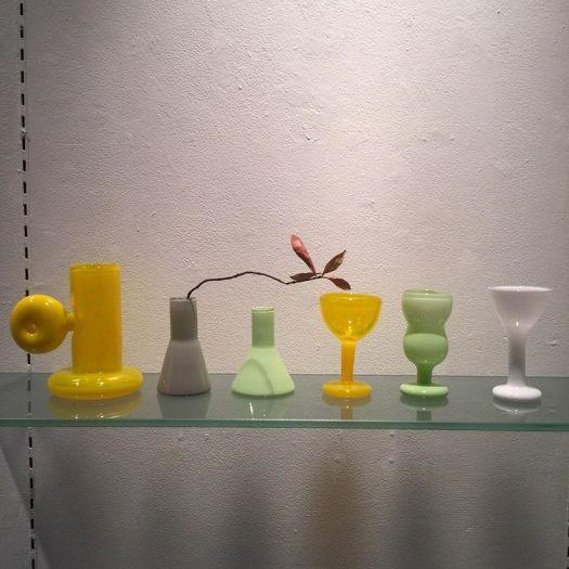 「SAVOIR VIVRE」で行われた「高橋禎彦 特別展」の展示品