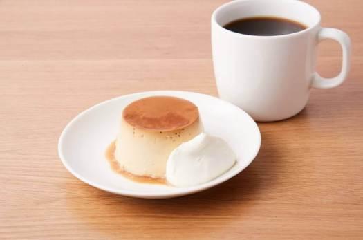 Café&Meal MUJI 渋谷西武の焼きプリン