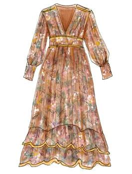 70年代ファッションアイテム「刺繍ワンピース」