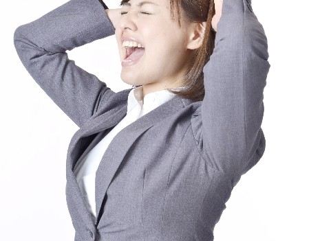女性副業_ストレス