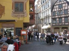 Alsace Colmar centre pietonnelle 1